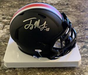 Terry McLaurin Signed Ohio State Eclipse Mini Helmet NCAA EXACT PROOF BAS COA A