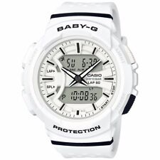 Casio Baby-G Womens Wrist Watch BGA240-7A BGA-240-7A White Analog-Digital