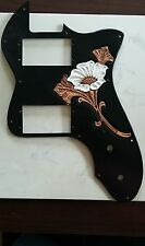 Tooled leather Pickguard for Fender '72 Thin-Line Telecaster