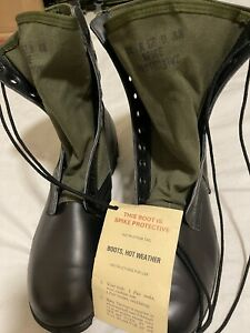 Vietnam vintage Spike Protective Jungle Boots US GI New assorted sizes