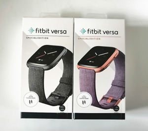 Fitbit Versa Special Edition Smartwatch Activity Tracker NFC FB505 Sealed Box