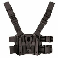 Genuine Blackhawk Black Tactical Holster Platform  Serpa CQC Holster 432000PBK