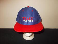 VTG-1990s Adult Size Time For Kids Magazine Publication snapback hat sku33