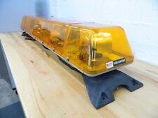 "*USED* Federal Signal 211916 48"" Turbo Beam 2000 Amber (4) Halogen Rotator Light"