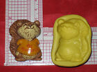 Squirrel Silicone Mold A518 Cake Chocolate Resin Candy Fondant Fimo