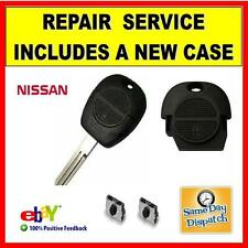 Nissan Keyfob - Repair Service Including A New Top Button Case Free Delivery..