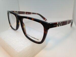 Dolce & Gabbana DG3161P 2713 Havana Brown Eyeglasses Frame 52-17-140mm