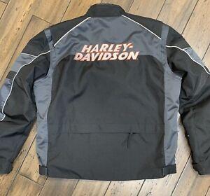 Harley Davidson Gravel Stone Mesh jacket reflective Size 2XLARGE 97341-13VM