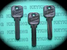 Toyota Keyblanks x 3 , Key Blank- Non Remote-TOY14