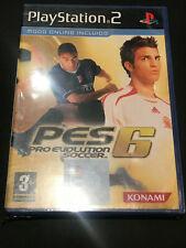 Pro Evolution Soccer 6 PS2 Play Station 2 PAL ESPAÑOL NUEVO PRECINTADO