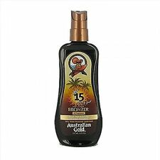 Australian Gold Spray GEL With Instant Bronzer Spf15 237ml