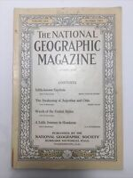 National Geographic Magazine August 1916 Issue