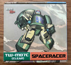 Transformers Masterpiece Cosmos Toyworld Spaceracer TW-M07 CLEAR VERSION