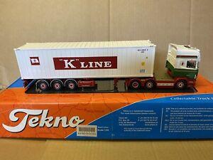 escala 1:50 Tekno000-126 Scania 1 Sereis Rhd Tablero Etc Tekno parte