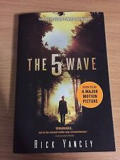The 5th Wave by Rick Yancy Paperback NY Times Best Seller