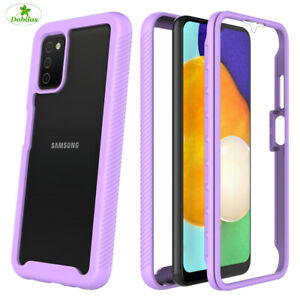 Case For Samsung Galaxy A12 M12 A32 A42 S21 ShockProof Clear Armour Rugged Cover