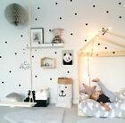 27 Pcs Polka Dot Wall Stickers Kids Room Pvc Removable Vinyl Decal Home Decor