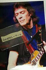 Steve Hackett Signed Genesis Autograph g