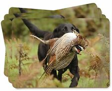 Labrador and Pheasant Picture Placemats in Gift Box, AD-L21P