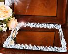 Crystal Diamante Arabian/Turkish Style Serving Mirror Tray with Handle Wedding