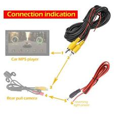 20ft 6m RCA Video Cable for Car Rear View Camera Parking Reverse Backup Camera