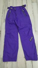 SPYDER THINSULATE  SKI SNOWBOARD SNOW PANTS Mens Small Purple