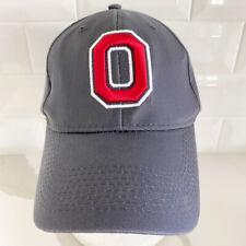 Nwot Fan 1 Ohio State Buckeyes Ncaa Gray Adjustable Snapback Cap / Hat Osfm