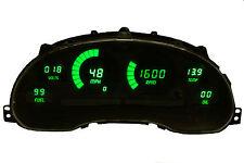 1994-2004 Ford Mustang Digital Dash Panel Green Led Gauges Dp7009G Intellitronix