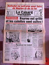 Le Canard Enchainé 19/01/1994; Balladur ne sait plus quoi faire de Bayrou