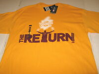 LEBRON JAMES Adidas THE RETURN to Cleveland Cavaliers 2014 T-Shirt New NWT LARGE