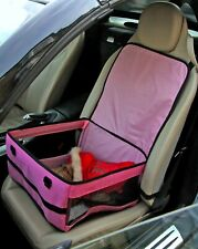 Pink Foldable Dog Car Seat ( Also Available In BLUE )