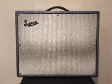 Supro S6420+ Thunderbolt Plus 35/45/60W 1x15 Tube Guitar Combo Amp