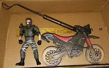 Jurassic Park Lost World Dino Snare Dirtbike Vehicle w Exclusive Carter COMPLETE