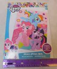 My Little Pony Pom-Pom Art Kid's Craft Kit UK Merchandise/Shipping from US
