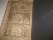 1754 Amsterdam SHULCHAN ARUCH Orach Chaim WITH WOODCUT ILLUSTRATION ON TITLE