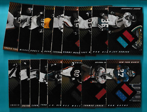 2000 Leaf Limited SP Jersey Ball Relic RC's - Pick One - Fill Your Set (KCR)