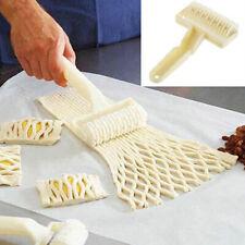 Baking Mold Pastry Lattice Roller Cutter Plastic Pastry Kitchen Bakery Tool UK