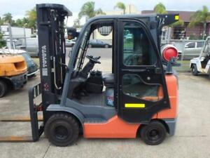 Toyota - 3 Ton Container Mast - 2012 - 32-8FGK30 - Only 2,812 Hours, F3797 Air