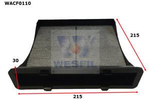 WESFIL CABIN FILTER FOR Subaru Impreza 2.0L 2014 04/14-on WACF0110