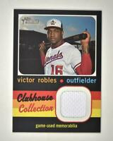 2020 Heritage High Number Clubhouse Collection JERSEY Relic CCR-VR Victor Robles