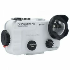 SeaFrogs 60M/195FT Custodia subacquea per IPhone 6Plus 7Plus 8 Plus