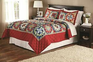 Quilt Shooting Star Classic Patterned, Quilt, Queen/Full