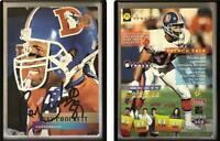 Ray Crockett Signed 1995 Stadium Club #359 Card Denver Broncos Auto Autograph