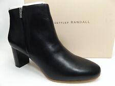 Loeffler Randall Greer Ankle Booties Women's Sz 10.5 B Black Leather, NEW, 13828