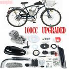 Full Set 100CC Bicycle Motorized 2-Stroke Gas Petrol Bike Engine Motor Kit CDI