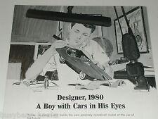 1966 General Motors advert, Fisher Body Craftsman Guild, model car building