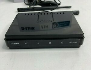 D-Link Wireless Open Access Point Router DAP-1360/B Black - USED RRP £25 A84