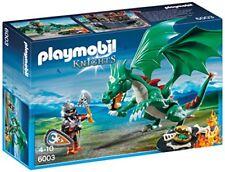 Playmobil 6003 Chevalier avec Grand Dragon Vert - en Soldes