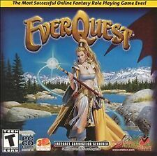 EverQuest Jewel Case (Pc, 2001)