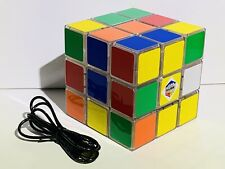 "Rubiks Cube Light 3x3 Paladone 4.5"" w/ USB Power Cord Tested Works Rubix Rubik's"